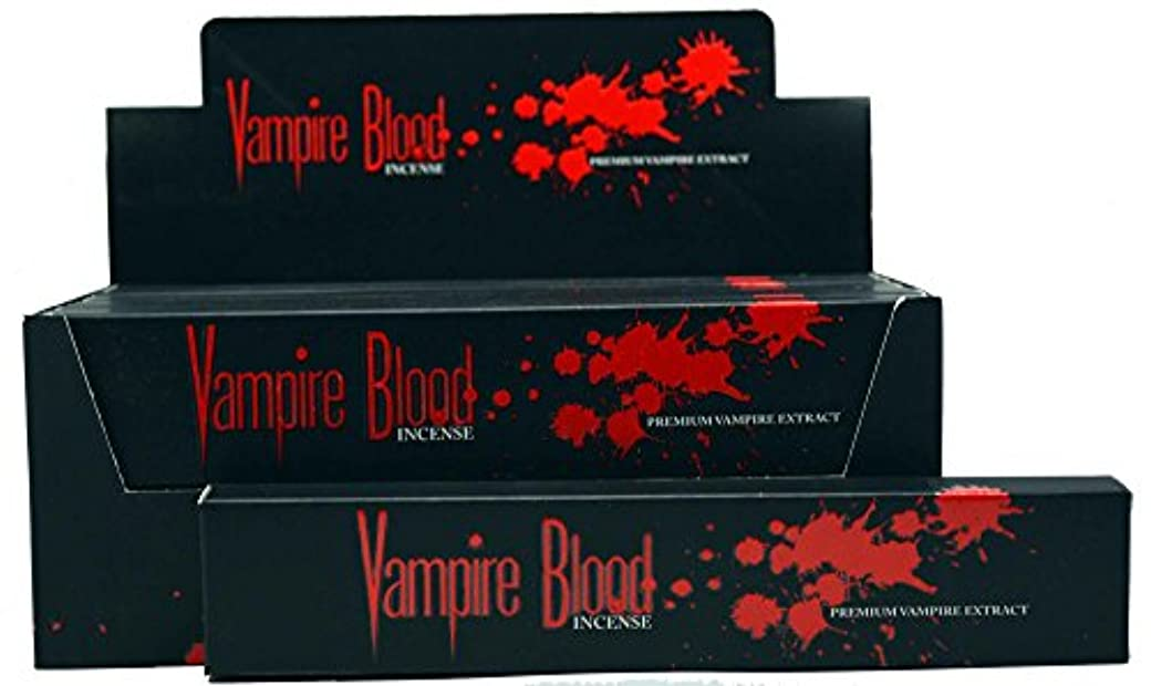 エンジニア利用可能硬化するNandita Vampire Blood Incense Sticks Agarbathi – 15 Gボックス ブラウン