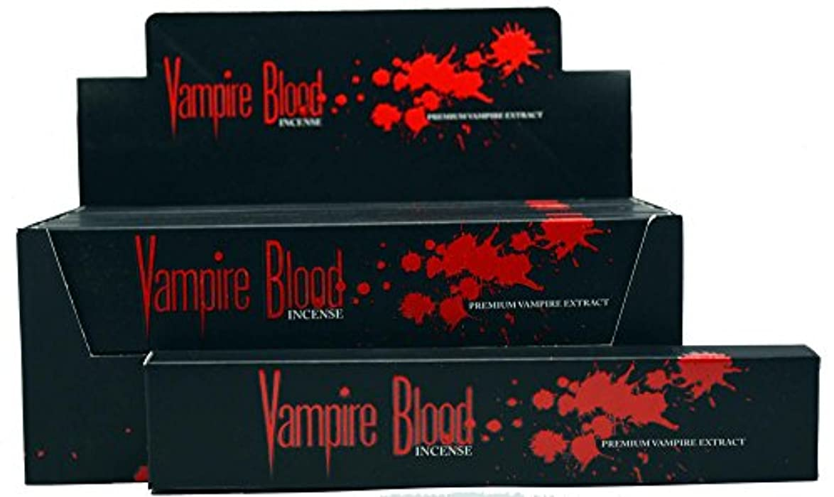 大脳人工ベンチNandita Vampire Blood Incense Sticks Agarbathi – 15 Gボックス ブラウン