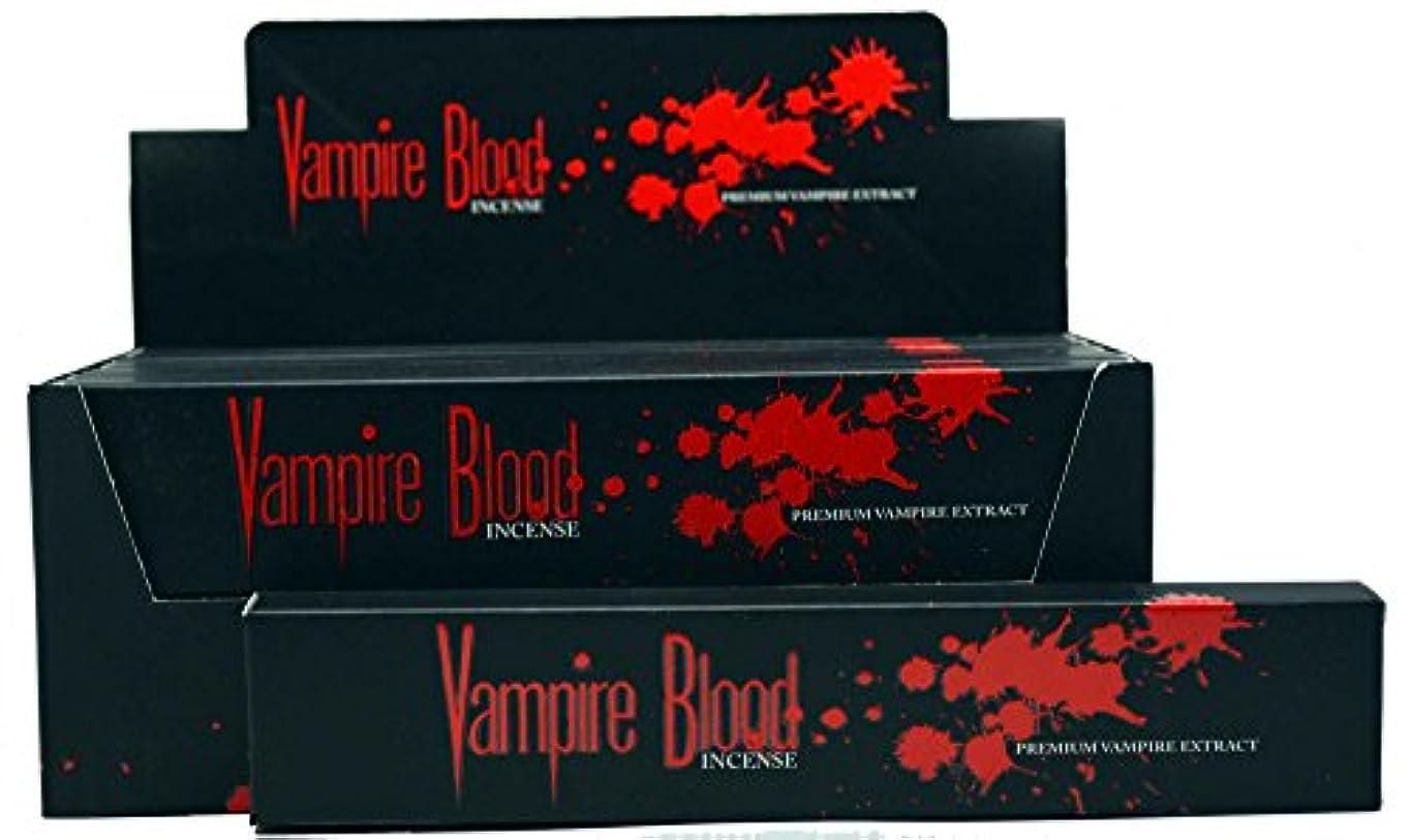 Nandita Vampire Blood Incense Sticks Agarbathi – 15 Gボックス ブラウン