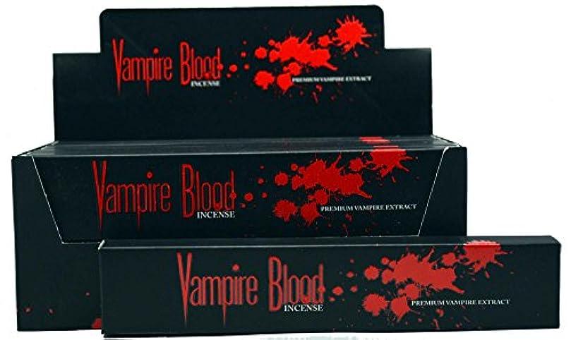 ハイライトオプショナル肖像画Nandita Vampire Blood Incense Sticks Agarbathi – 15 Gボックス ブラウン