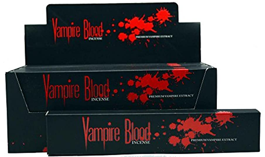 ドナー縁石海里Nandita Vampire Blood Incense Sticks Agarbathi – 15 Gボックス ブラウン