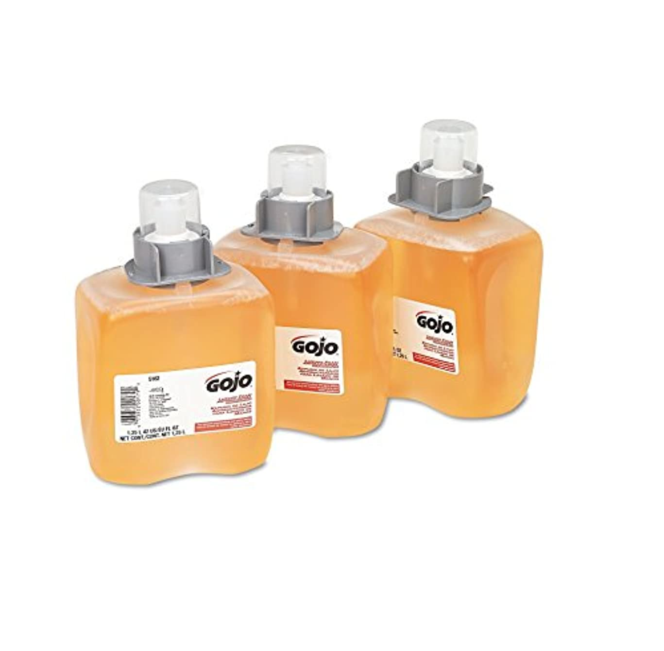 FMX-12 Foam Hand Wash, Orange Blossom, FMX-12 Dispenser, 1250ml Pump, 3/Carton (並行輸入品)