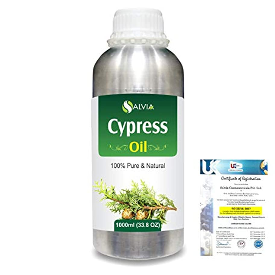 社会主義者無一文押すCypress(Cupressus sempervirens) 100% Natural Pure Essential Oil 1000ml/33.8fl.oz.