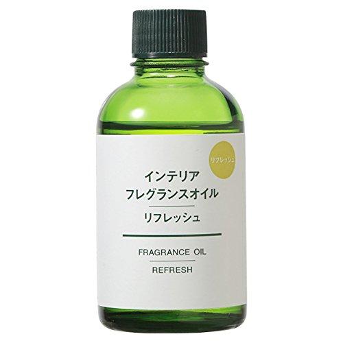 無印良品 インテリアフレグランスオイル・リフレッシュ 60ml 日本製