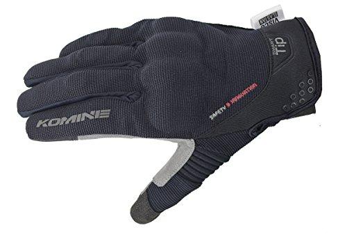 コミネ(Komine) バイクメッシュグローブ プロテクトメッシュグローブ-ブレイブ ブラック L 06-183 GK-183