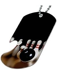 Bowling Alley – ボトルOpener犬タグネックレス