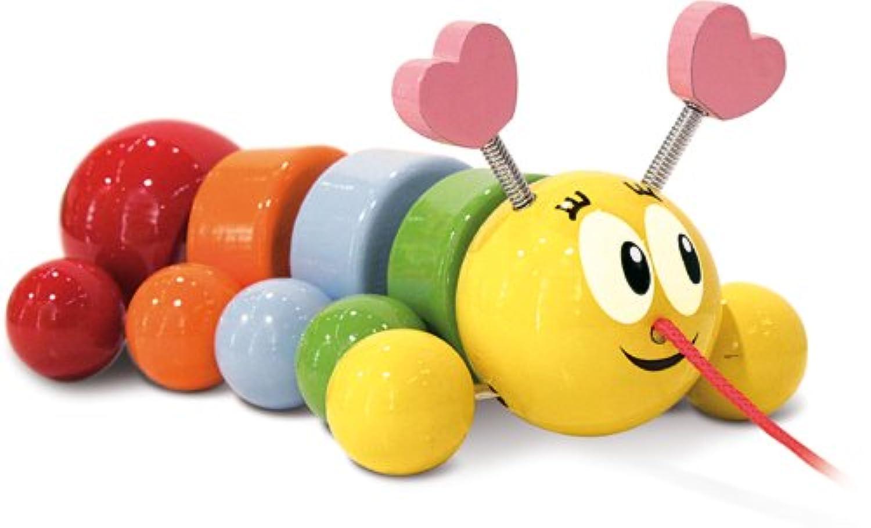 Vilac Caterpillar Pull Toy