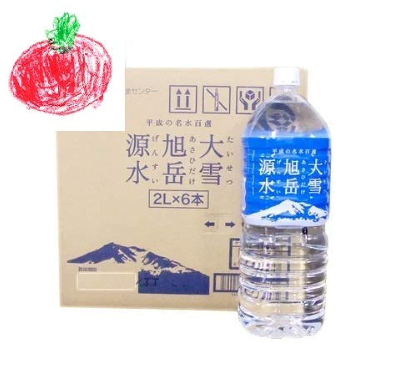 と遊ぶアカデミー逮捕「北海道 水 2リットル」「北海道の水」大雪旭岳源水 2リットル×6本入×2箱