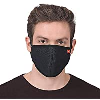 ASG KUBER 6 Layered Mask   Washable, Breathable, Lightweight & Reusable Cover   For Adult, Men & Women   Filter, Elastic Earloop & Triple Filtration System   Comfortable & Easy to Wear (2)