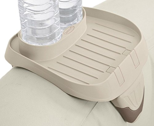 Intex PureSpa Cup Holder, 2 Standard Size Beverage Containers by INTEX