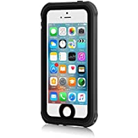Merit iPhone5/5S/Se 防水ケース 車載 磁力吸着 5S 防水カバー アイフォン 5S 防水ケース IP68 防塵 防雪 耐衝撃 ブラック