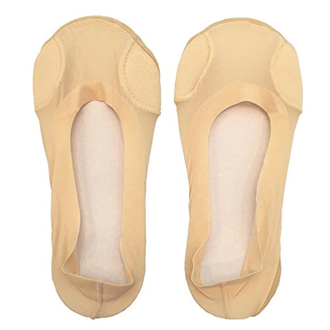 くびれた植生タブレットDrScholl(ドクターショール)靴ずれ防止フットカバー 指両側クッション付き 8805DR-80 ベージュ