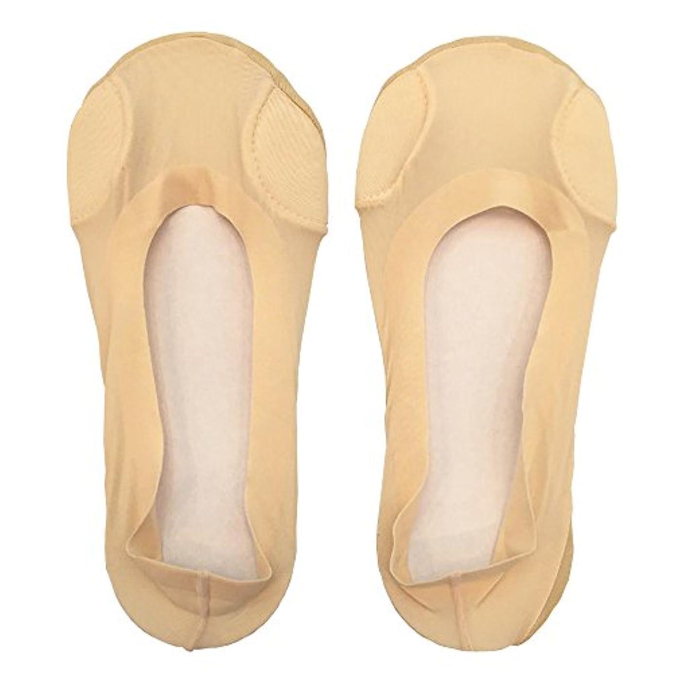神秘歌詞起きろDrScholl(ドクターショール)靴ずれ防止フットカバー 指両側クッション付き 8805DR-80 ベージュ