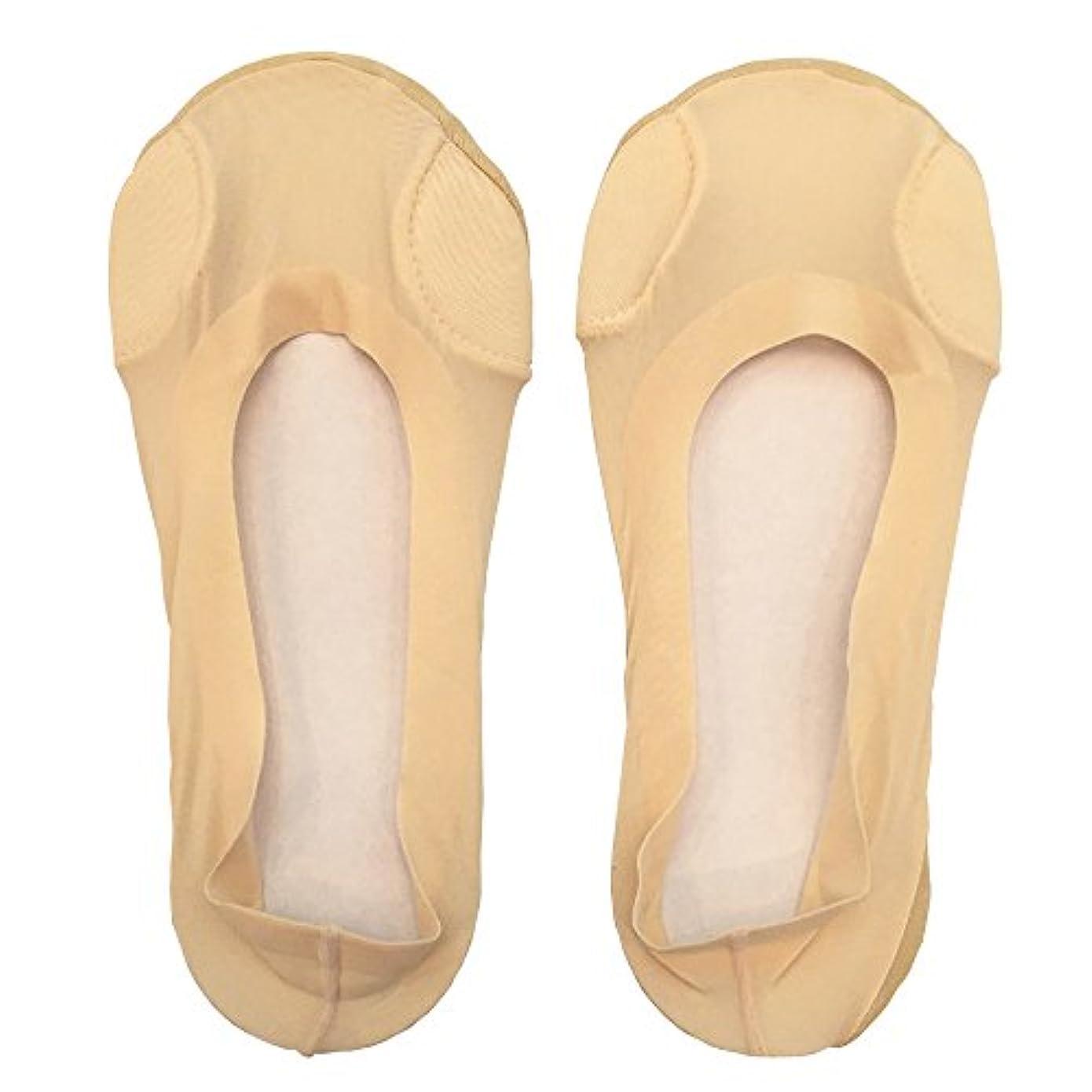 受粉者受ける範囲DrScholl(ドクターショール)靴ずれ防止フットカバー 指両側クッション付き 8805DR-80 ベージュ