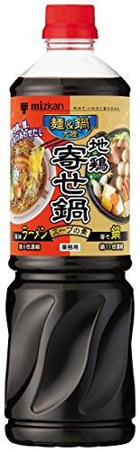 ミツカン 麺&鍋大陸 地鶏寄せ鍋スープの素 1170g