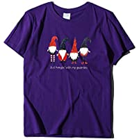 Howely Women's Short Sleeve Tee Christmas T-Shirt Fashion Blouse Top