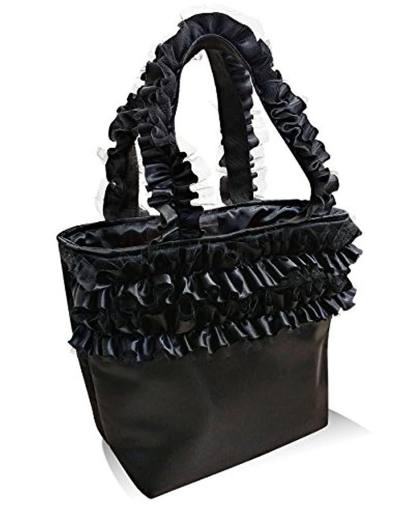 誘う怖い心配トートバッグ 通勤バッグ 通学バッグ レディースバッグ フリルハンドルバッグ バッグ おしゃれトート 日本製 ジュリエットトートバッグ