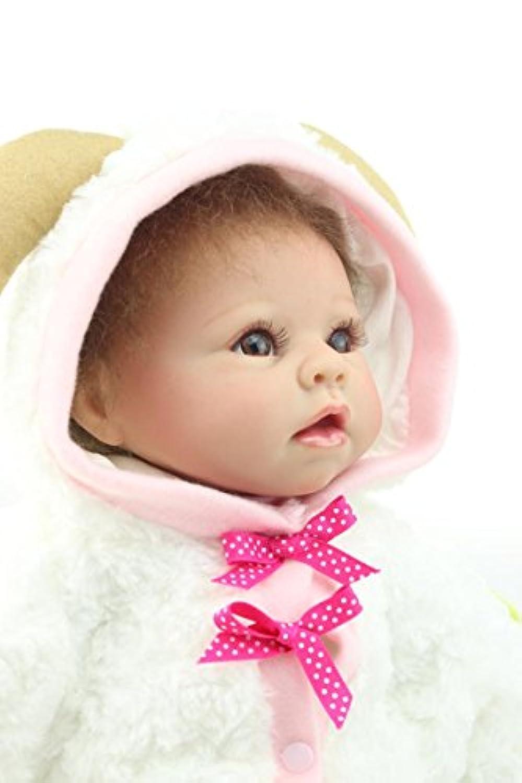 NPK COLLECTION 55cm リボーンドール 抱き人形 きせかえ人形 ドール 可愛い赤ちゃん 誕生日プレゼント プレゼント 赤ちゃん