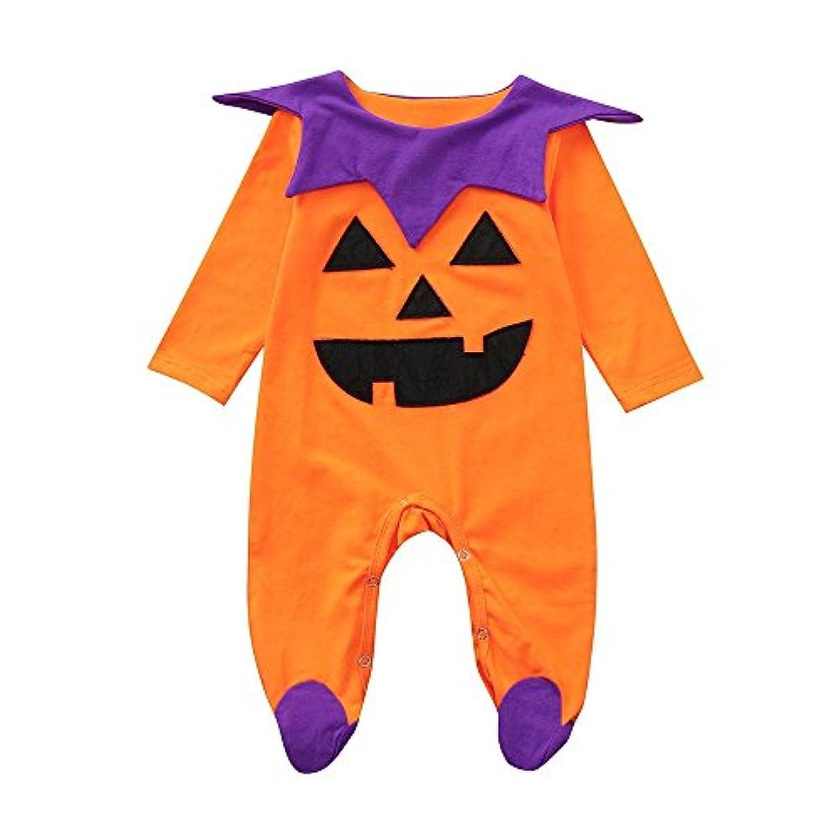 聞きますドメイン奪うBHKK 子供 幼児少年少女ロングスリーブロンパージャンプススーツハロウィーンの装飾衣装 6ヶ月 - 24ヶ月