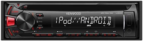 KENWOOD MP3/WMA/AAC/WAV対応CD/USBレシーバー U300R