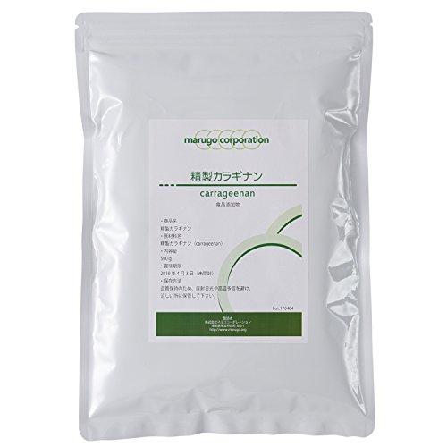 精製カラギナン 食品添加物グレード(食品)(500g)