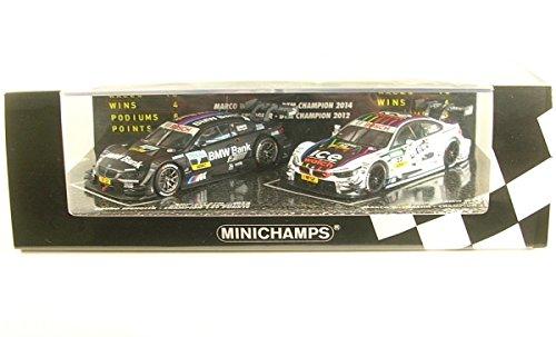 ☆ ミニチャンプス 1/43 BMW M3 & M4 DTM チャンピオンズ 2012/2014 B.スペングラー/M.ヴィットマン