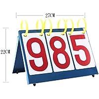 スポーツ用品ポータブルテーブルトップスコアボードスコアボード3桁、A3