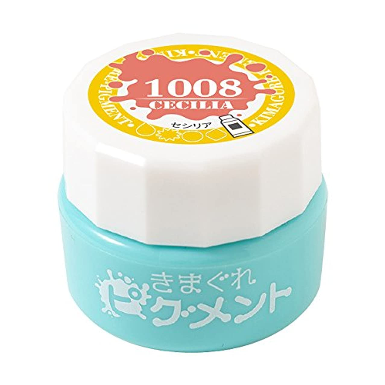免疫男らしさ乱用Bettygel きまぐれピグメント セシリア QYJ-1008 4g UV/LED対応