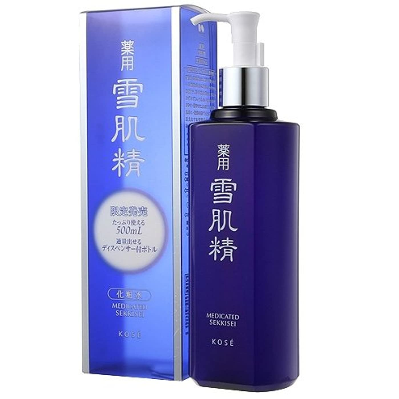 成長文芸食料品店コーセー(KOSE) 雪肌精 雪肌精 化粧水(500ml)BIGボトル(並行輸入品)