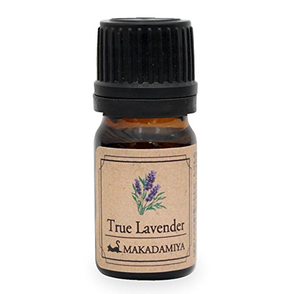 リア王舌なおもしろい真正ラベンダー5ml 天然100%植物性 エッセンシャルオイル(精油) アロマオイル アロママッサージ aroma TrueLavender