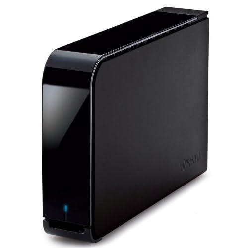 BUFFALO ターボPC EX2 USB3.0用 【Wii U動作確認済み】 外付けHDD 2TB ブラック HD-LB2.0TU3-BKC