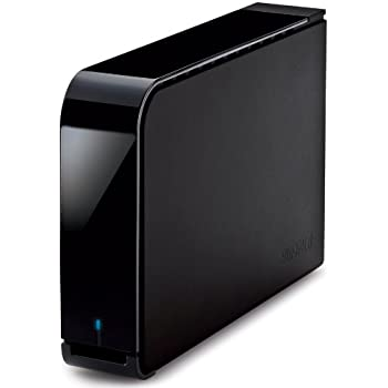 BUFFALO ターボPC EX2 USB3.0用 【Wii U動作確認済み】 外付けHDD 1TB ブラック HD-LB1.0TU3-BKC