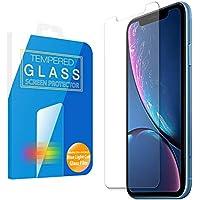 MS factory iPhone XR ガラスフィルム ブルーライト カット 90% iPhoneXR アイフォンXR 10r ブルーライトカット 日本製 強化ガラス フィルム 保護フィルム 90日 保証 FD-IPXR-BLUE-AB