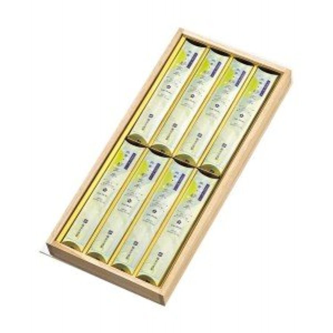 移動する冷淡な団結する微煙微香好文木短寸バラ8箱詰桐箱