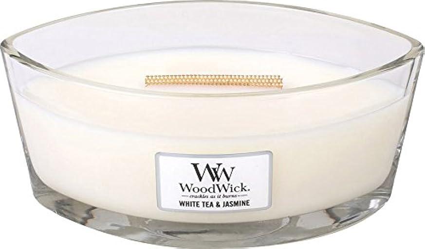 可能にする申し立てられた失うWood Wick ハースウィックキャンドルL ホワイトティージャスミン