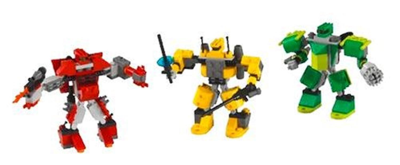 レゴ (LEGO) デザイナーセット ロボットデザイナー (小) 4097