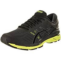 ASICS Men's GEL Kayano 24 Shoe Black/Green Gecko/Phantom
