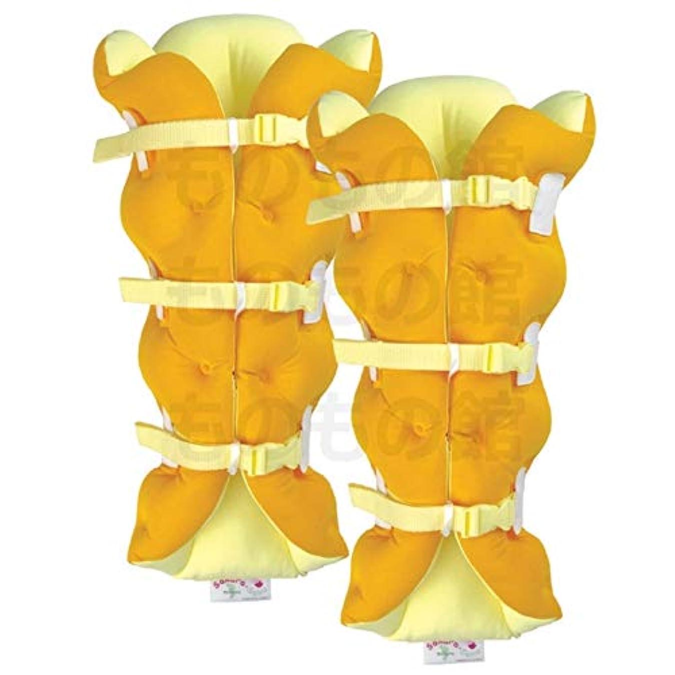 砂漠うまくやる()春サクラ咲く足まくら EVOLUTION (両足セット) オレンジ