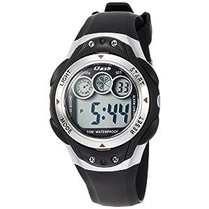 [アリアス]ALIAS 腕時計 デジタル DASH 5気圧防水 ウレタンベルト シルバー ADWW17098-02 メンズ