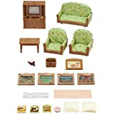 Sylvanian Families Living Room & TV Set Furniture Toy