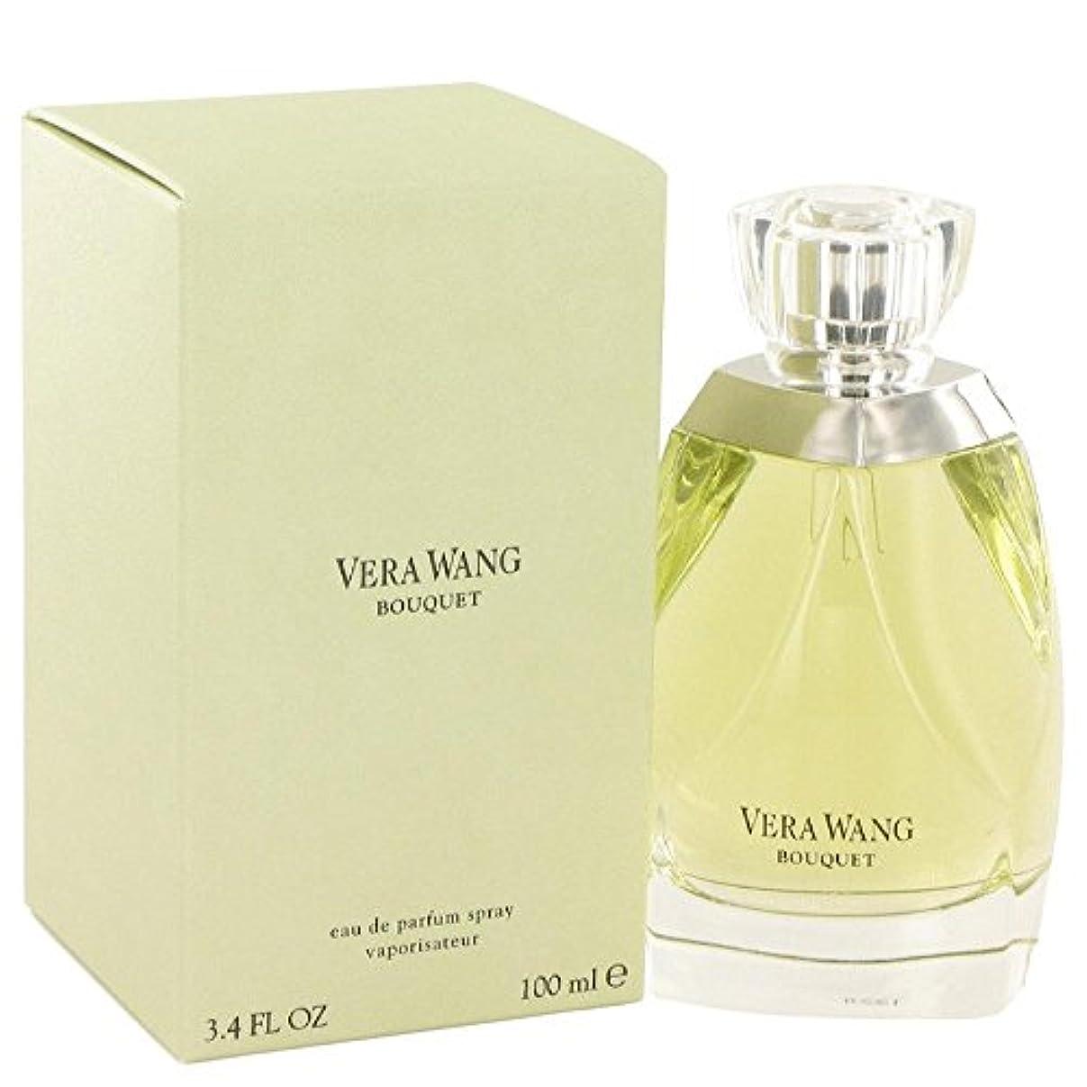 アクション架空の多様体Vera Wang Bouquet 100ml/3.4oz Eau De Parfum Spray EDP Perfume Fragrance for Her