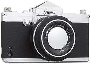 GIZMON iPhone SE/5S/5対応 カメラ型ケース iCA5 SLR シルバー/ブラック GIZ-ICA5-SLR