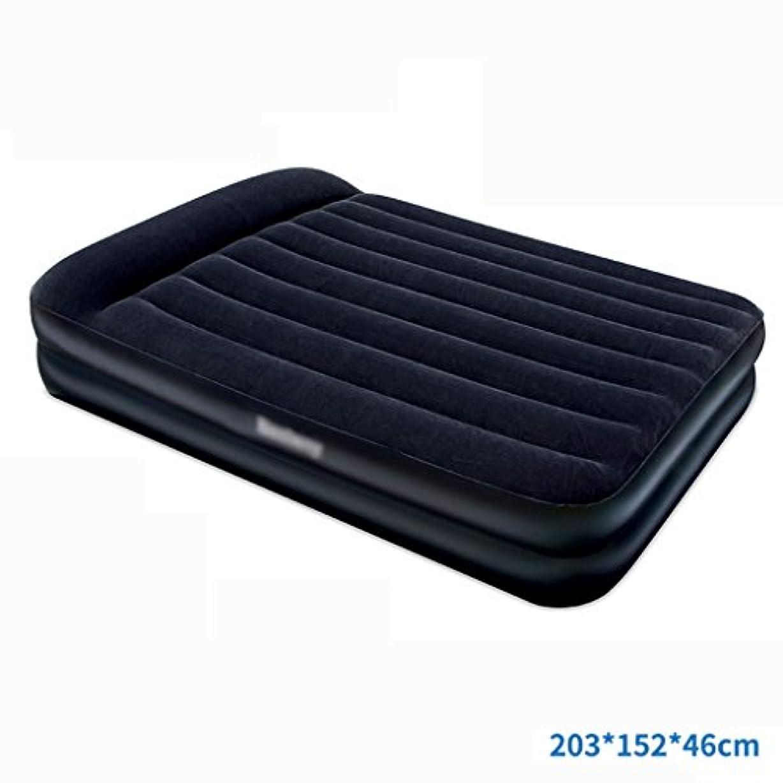 起きて以降欲しいですベッド、二重層インフレータブルマットレス空気クッション家庭用インフレータブルベッド (色 : 4)