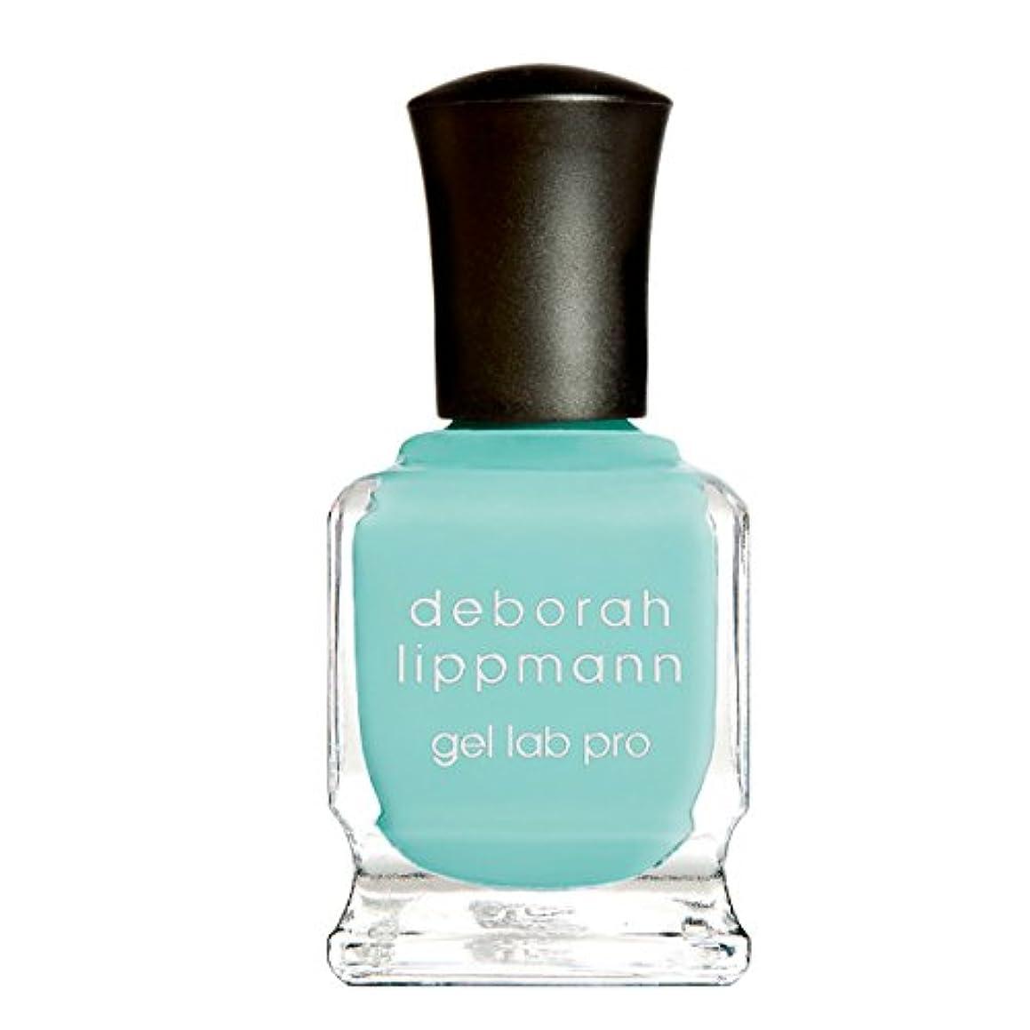 ビヨン無駄マイク[Deborah Lippmann] デボラリップマン ジェルラボプロ スプリッシュ スプラッシュ(カラー:アクアグリーン)SPLISH SPLASH ジェルポリッシュ 色:アクアグリーン ネイルカラー系統:グリーン 15mL