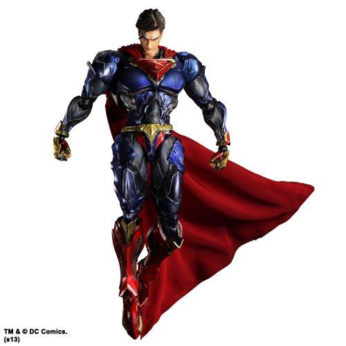 Not Machine Specific DC Comics VARIANT PLAY ARTS개 슈퍼맨(PVC도장필 액션 피규어)- (2014-07-31)