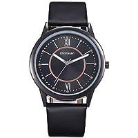 007XIXI Watches for Men Amazon Choice Luxury Men Watch Business Large Dial Watch Fashion Quartz Leather Belt Watch
