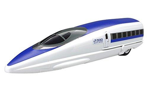 プラモデル楽しいトレインシリーズ04「楽しいトレイン 500系新幹線」