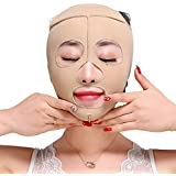TLMY 痩身ベルト痩身ベルト薄い顔の包帯小V顔の顔の薄い顔のマスク包帯の強化引き締めV顔美容マスク小さな顔の包帯の頭飾り修正顔の形 顔用整形マスク (Size : M)