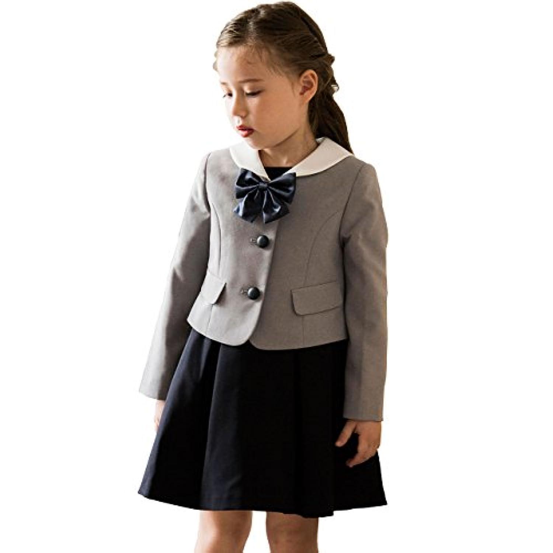 (キャサリンコテージ) Catherine Cottage子供服 フォーマル キッズ 紺 グレー 115 120 130cm 発表会 受験 七五三 卒園式 卒業式 入学式 子供フォーマル 女の子 セーラー衿スーツアンサンブル