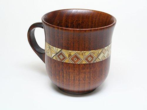 寄木細工マグカップ